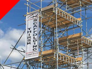 Thirsk Scaffolding North Yorkshire North East England